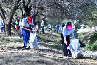 Municipio de Aguascalientes recolecta más de 120 toneladas de basura en zonas naturales