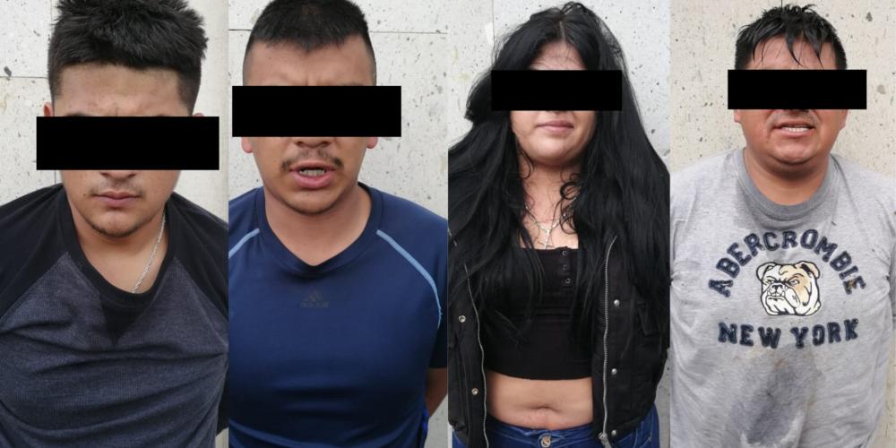 Detienen a presunta banda de secuestradores en Aguascalientes