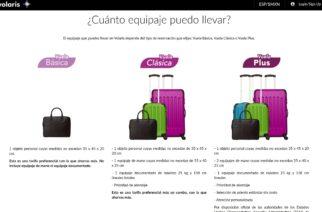 Volaris hace cambios y reduce el nivel de equipaje de mano