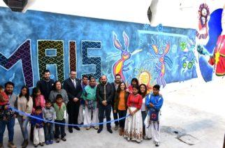 Encabeza gobierno estatal inauguración de edificio de comunidades indígenas