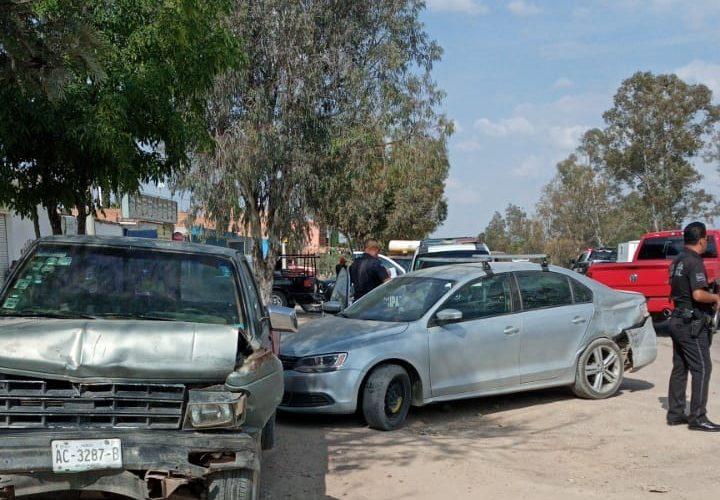Persecución y balacera en Calvillito deja 4 detenidos