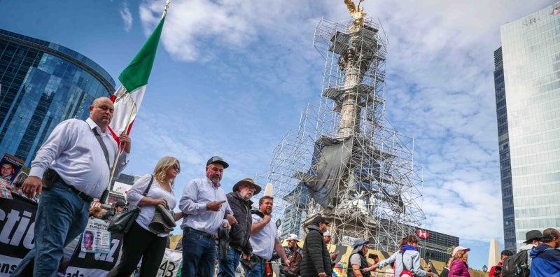 Sicilia y familia LeBarón se niegan a reunirse con  gabinete de seguridad