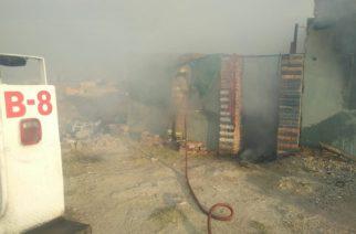 Se incendia finca en construcción en Jesús María
