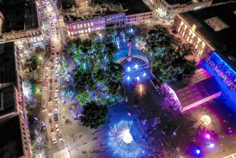 Rebasa récord el  programa navideño del municipio de Aguascalientes