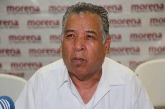 Cuitláhuac Cardona continúa  como militante y al frente de Morena en Aguascalientes