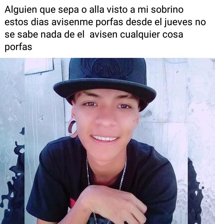 Se busca joven extraviado en Aguascalientes