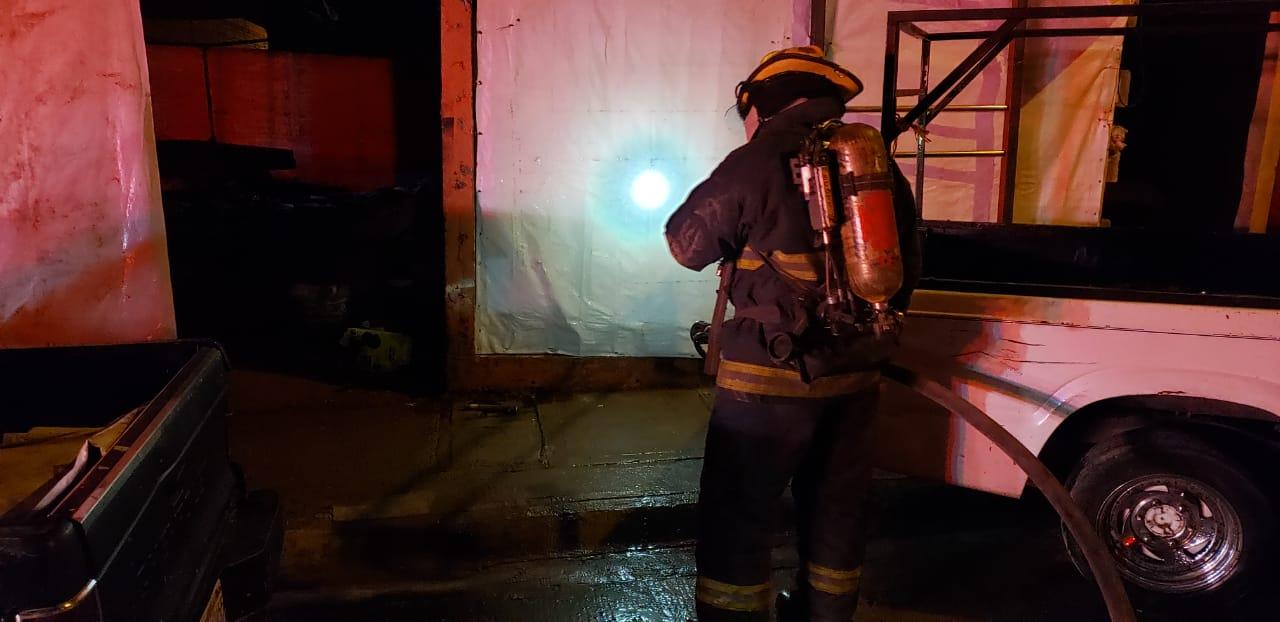 Bomberos Municipales atienden fuga de gas ocasionado por un descuido en Aguascalientes