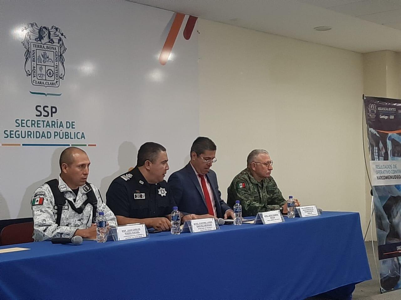 Desmantelan narcolaboratorio en Jesús María, Aguascalientes