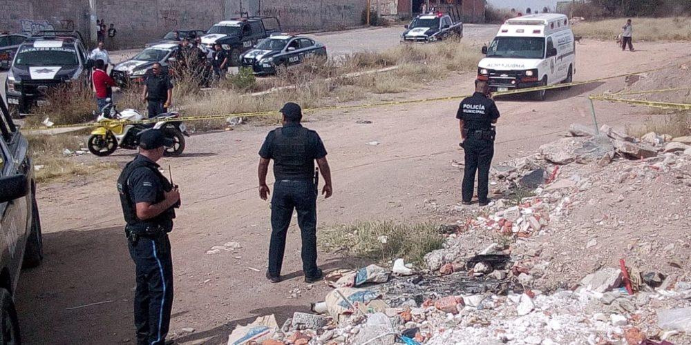 Niños localizan un cadáver con el cráneo destrozado en Aguascalientes
