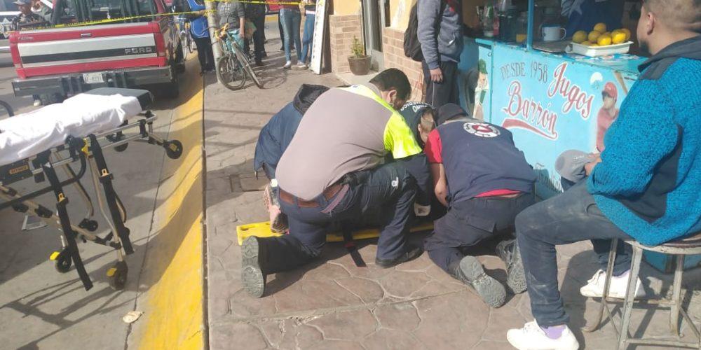 Se lo llevó el tren en Aguascalientes