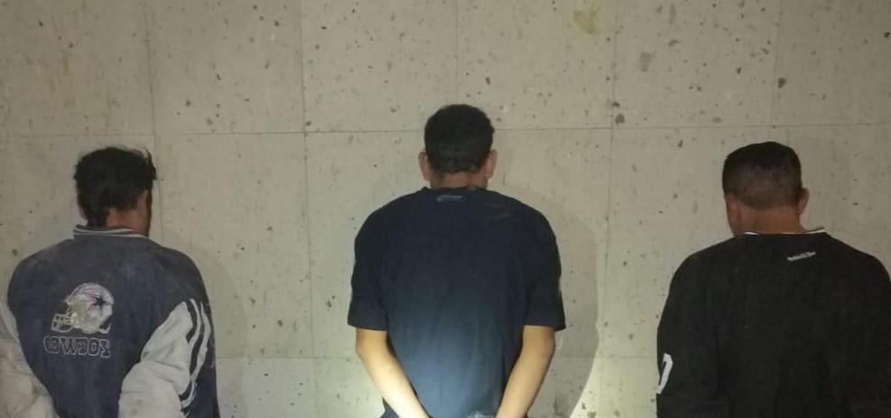 Atrapan a 3 que robaron una casa en Aguascalientes