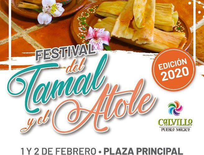Calvillo realizará su festival del Tamal y el Atole 2020