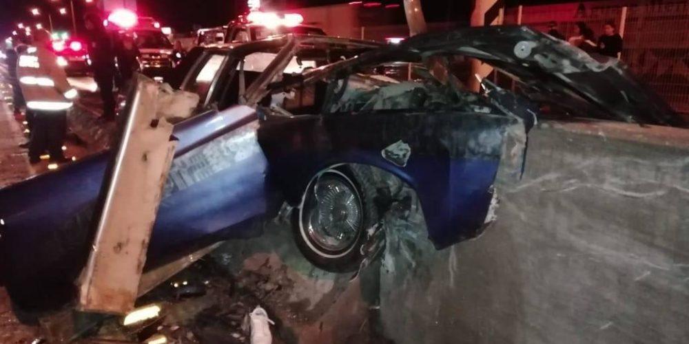 6 zacatecanos resultan heridos en choque en Aguascalientes