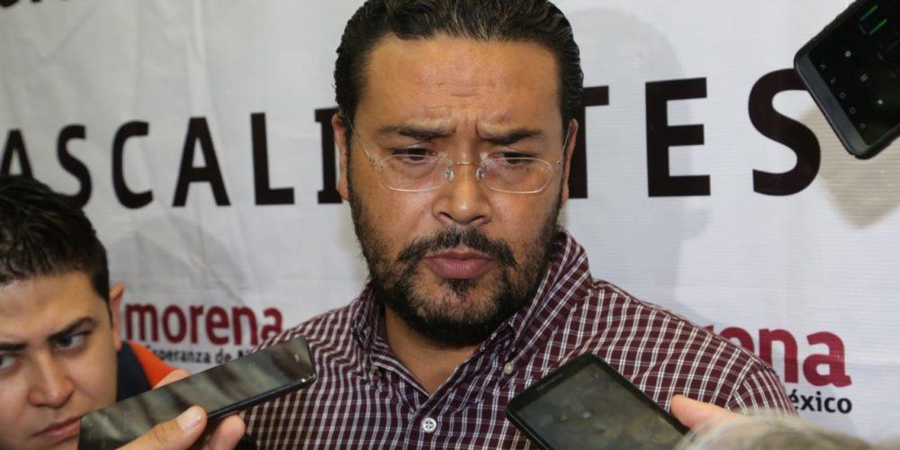 Militancia de Morena Aguascalientes no reconoce a  Cardona como dirigente: De la Cruz