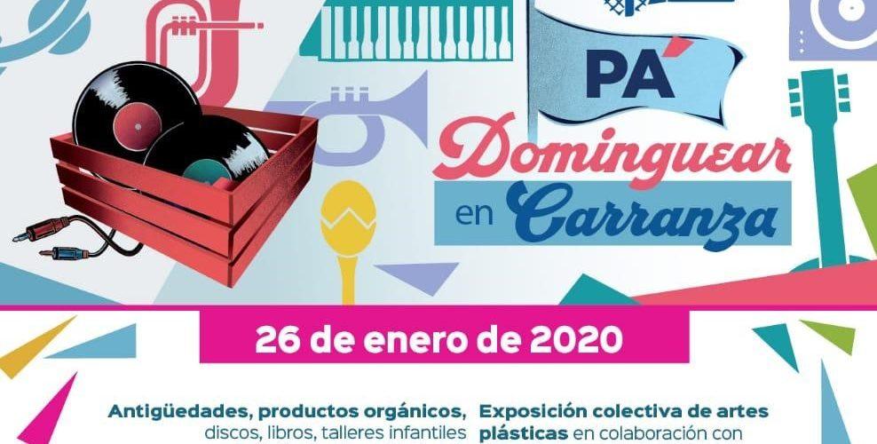"IMAC te invita a ""Dominguear en Carranza"""