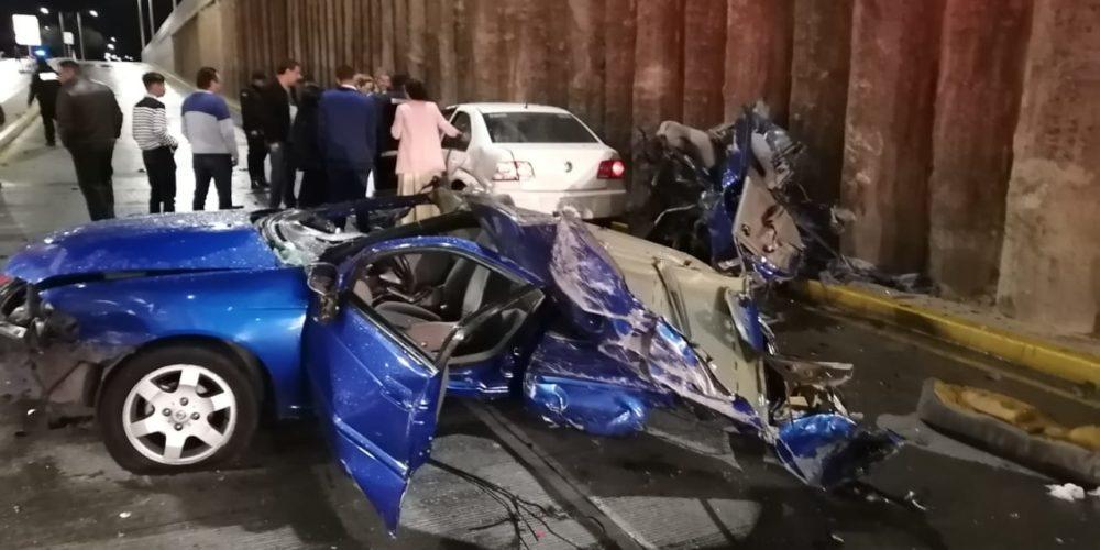 7 heridos deja choque en Aguascalientes