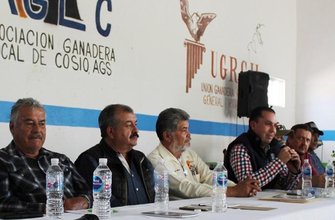 Perfilan nuevos programas de apoyo para ganaderos de Aguascalientes