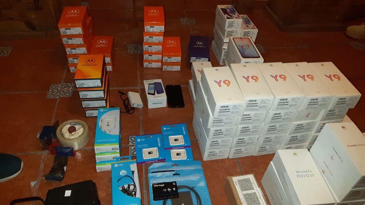 Recupera fiscalía celulares robados en Aguascalientes