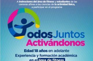 """Municipio invita a participar en el programa """"Todos Juntos en el Deporte"""""""
