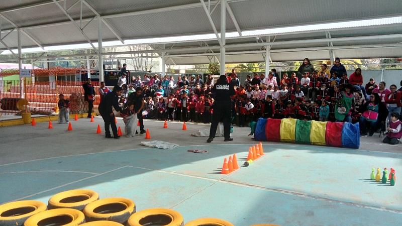 Participan más de 600 estudiantes de Jesús María en charlas de prevención del delito