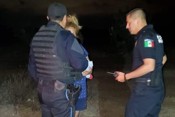 Localizan a niño de 4 años extraviado en El Llano