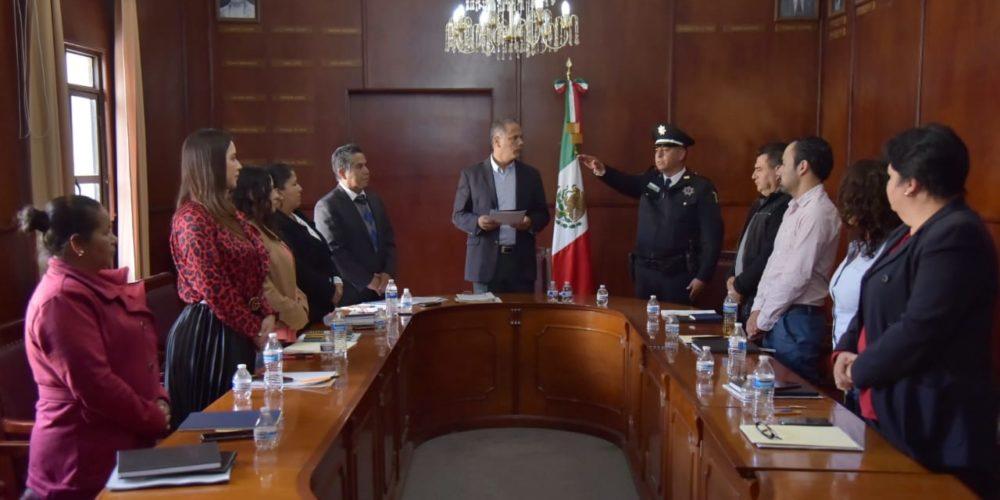 Ratifica el Cabildo de Jesús María al Secretario de Seguridad Pública