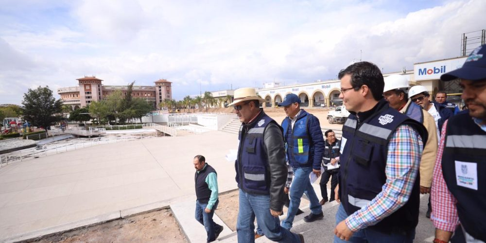 Supervisa MOS avances de obras en el municipio de Aguascalientes