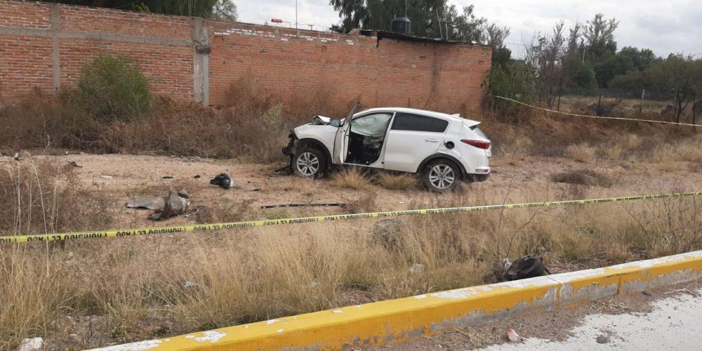 Veloz conductor atropella y mata a motociclista en Jesús María, Aguascalientes