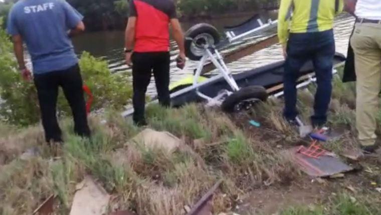 (Video)Avioneta cae en Iztapa, Guatemala; reportan tres fallecidos