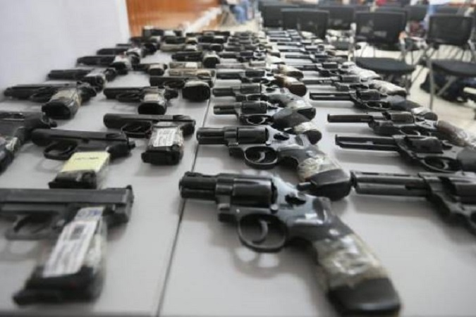 En 2019 se canjearon 48 armas de fuego en Aguascalientes