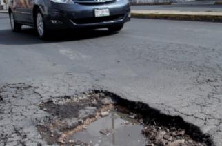 Continuaron siendo los baches el principal problema en Aguascalientes durante 2019