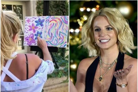 Pinturas de Britney Spears serán exhibidas en galería de Francia