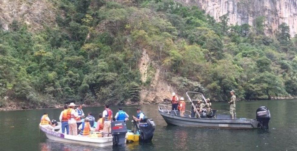 (Video)Captan derrumbe en El Cañon del Sumidero