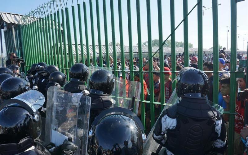 EU felicita a México por frenos a migrantes