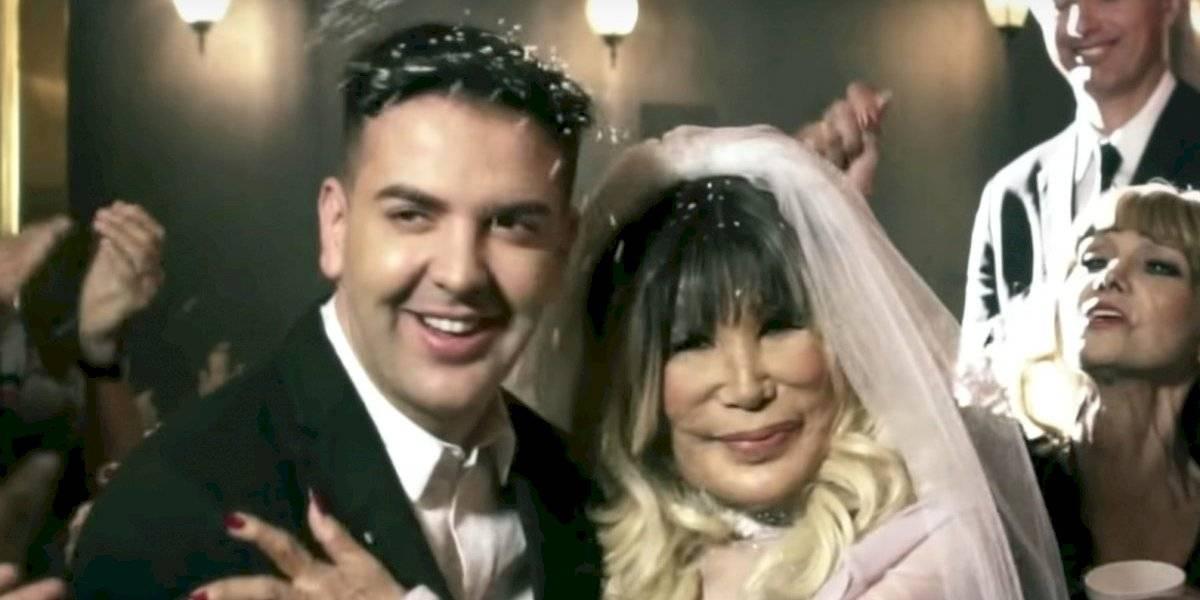 A sus 68 años, Lyn May se casa con su joven novio Markos D'1