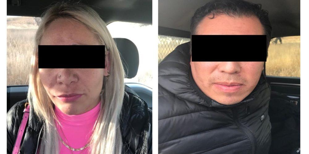 Cae pareja que transportaba drogas con valor de 1 millón de pesos en Aguascalientes