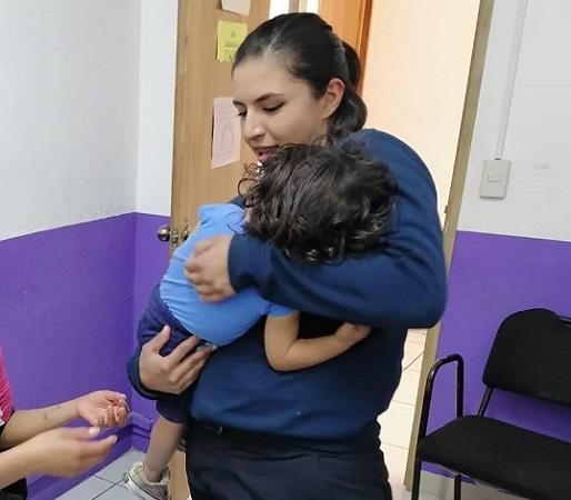 Localizan a niño de 1 año extraviado en Jesús María