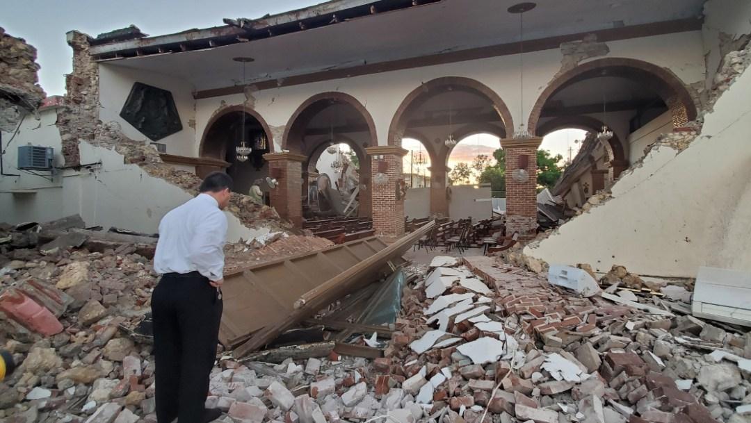 Puerto Rico sufre sismo de 6.4 grados