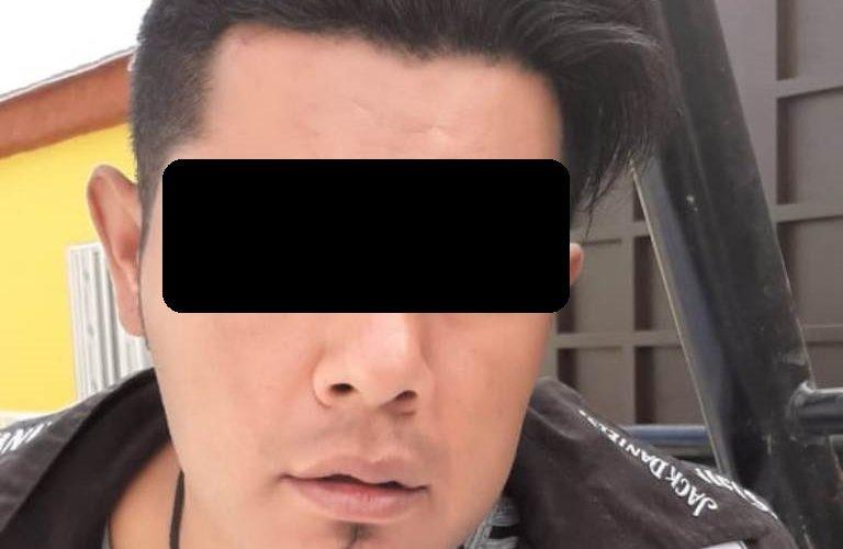 Fue detenido con un envoltorio con droga en Aguascalientes