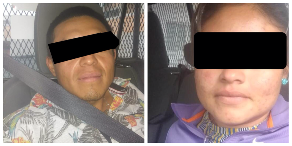 Detienen a pareja de ladrones en Aguascalientes