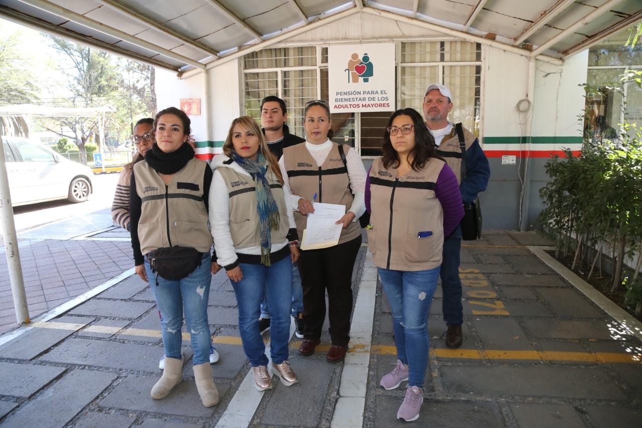 Denuncian servidores de la nación despido injustificado en Aguascalientes