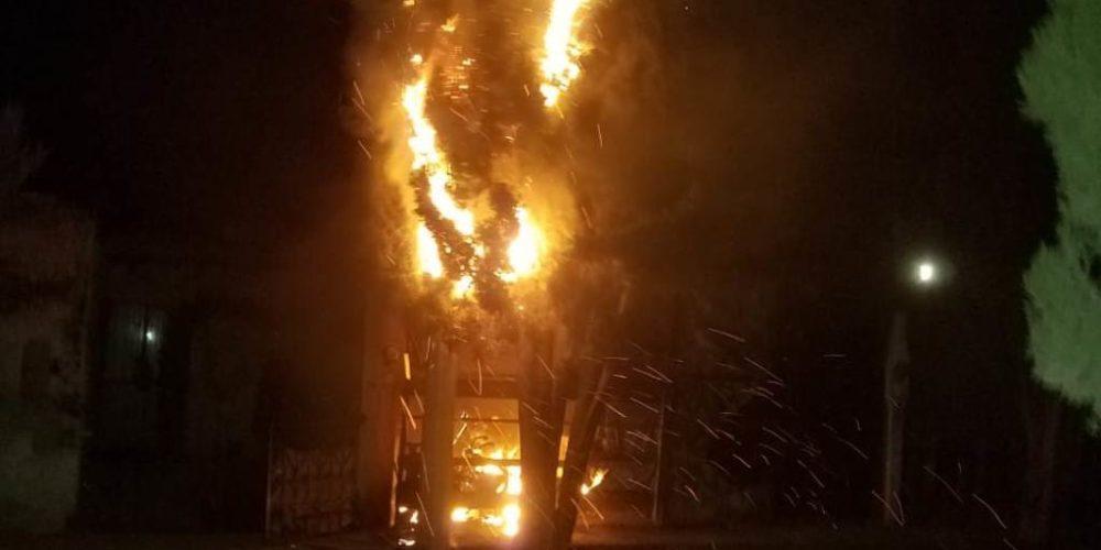 Se registra incendio en casa habitación de Jesús María, Aguascalientes