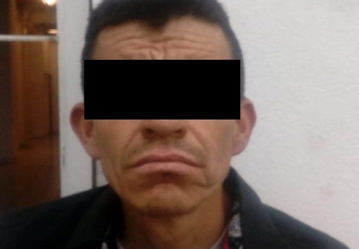 Con crystal detienen a Juan Alberto en Aguascalientes
