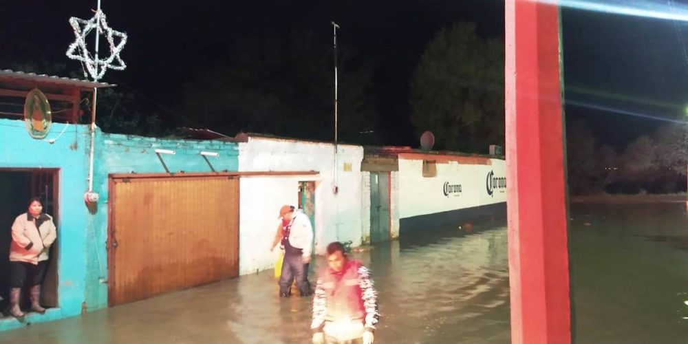 Lluvia y granizo dejaron afectaciones en Tepezalá, Asientos y Calvillo