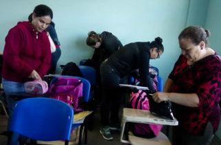 En Calvillo se aplica la revisión de mochilas a estudiantes
