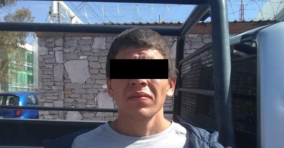 En el municipio de San José de Gracia, fue detenido sujeto en posesión de droga
