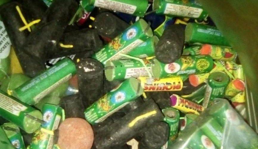 Aseguran 15 kilos de pirotecnia en Rincón de Romos, Aguascalientes