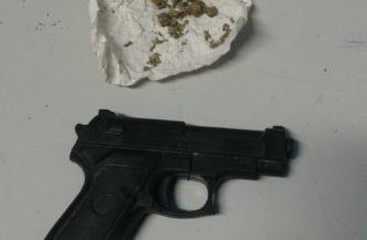 Asaltaba a parejas con una arma de plástico en Aguascalientes