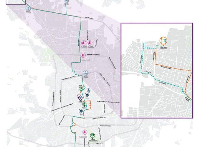 Amplían cobertura de la ruta 6 en el municipio de Jesús María