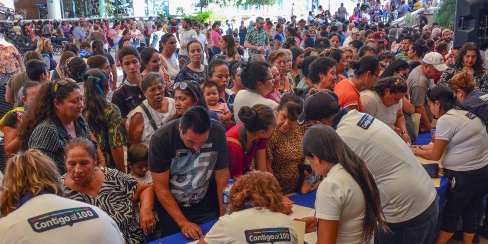 Más de 30 mil beneficiados con el programa Contigo al 100